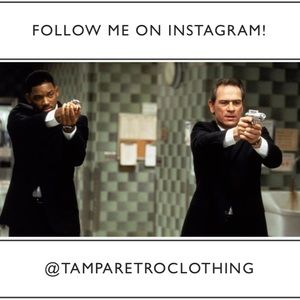 Follow @tamparetroclothing on Instagram!